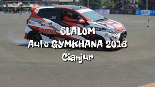 Slalom kejurnas auto GYMKHANA september 2018 : Cianjur