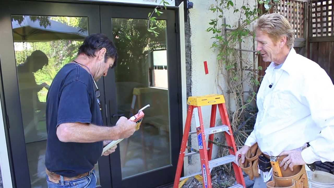 Installing A New Sliding Glass Door Larry Beilman Kirk Giordano You