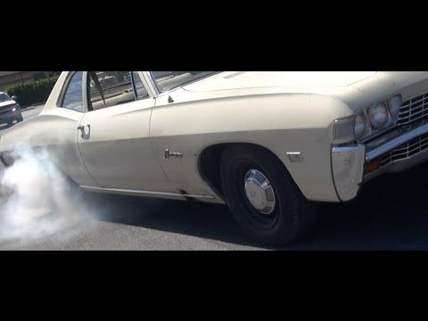 4.8L LSx Swap '68 Biscayne Dyno & Burnout