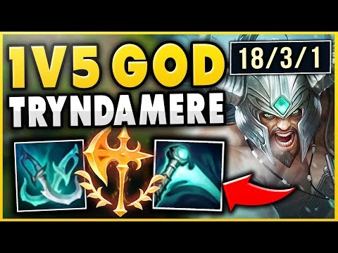 JUST HOW OP IS THIS ESSENCE REAVER TRYNDAMERE BUILD?!? CAN IT SOLO CARRY?- League of Legends