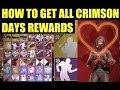 Destiny 2: How To Get ALL HIDDEN CRIMSON DAY REWARDS!! (Flaunting Dance, Emotes, Exotics & More)