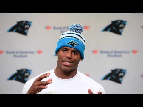 Cam Newton talks about Kelvin Benjamin