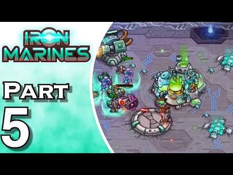 Iron Marines - iOS - Gameplay - Walkthrough - Let's Play - Part 5