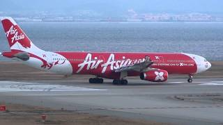 Video AirAsia X Airbus A330-300 9M-XXB Takeoff - Kansai International Airport【KIX/RJBB】 - download MP3, 3GP, MP4, WEBM, AVI, FLV Agustus 2018