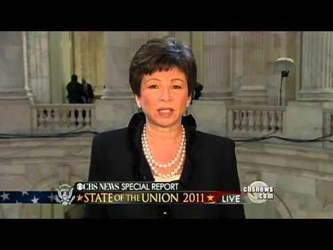 Valerie Jarret on State of the Union 2011 - YouTube