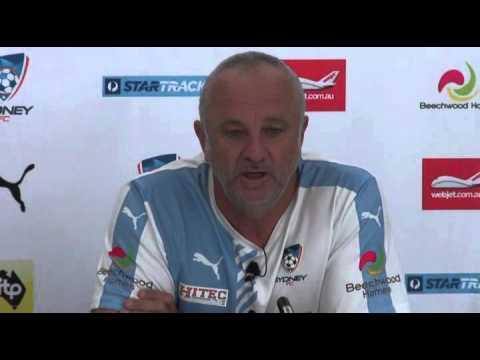 Arnie Pre Phoenix | Head Coach Interview | Sydney FC