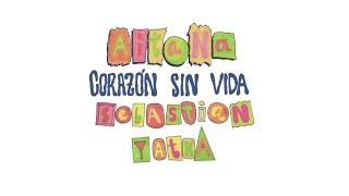 Aitana, Sebastián Yatra - Corazón Sin Vida (Lyric Video)