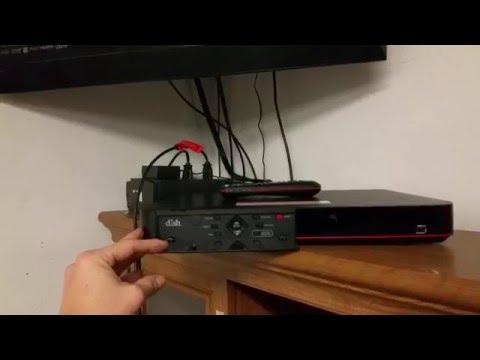 Dish Hopper 3 Initial Updating on Hybrid LNB - YouTube