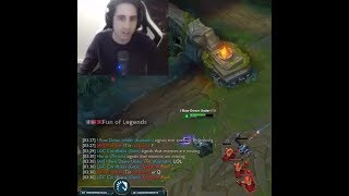 Dyrus Sonic Speed   IWillDominate Cancels TP From Downtown   Yassuo Baron Steal QuadraKill   LoL