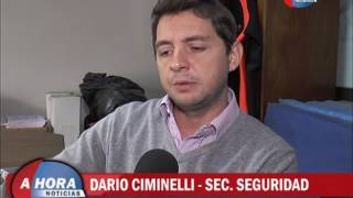 DARIO CIMINELLI   SEC  SEGURIDAD   BALANCE DEL PRIMER TRIMESTRE DEL AÑO EN MATERIA DE SEGURIDAD