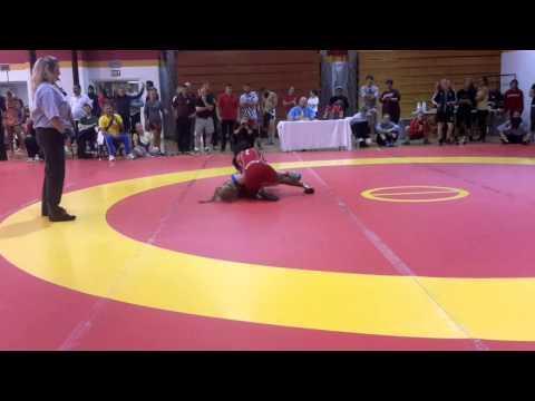 2014 Canada Cup: 48 kg Carolina Castillo (COL) vs. Annie Monteith (CAN)