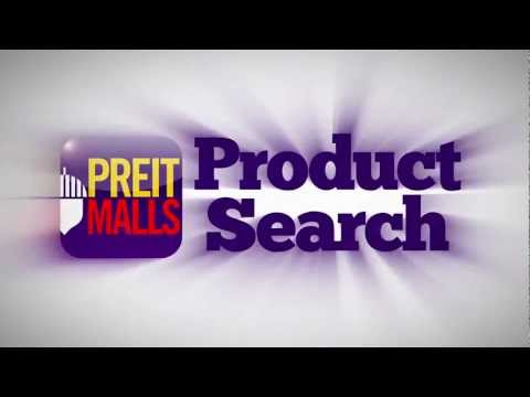 PREIT Malls Product Search