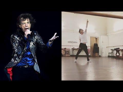 El Gallo Por La Mañana - Mick Jagger Pasos De Baile
