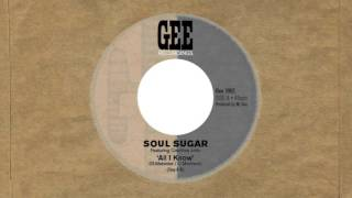 "Soul Sugar featuring Courtney John ""All I know"""