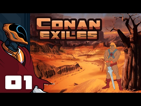 Let's Play Conan Exiles - PC Gameplay Part 1 - Who Is Co-Nan? Me Am He-Man!