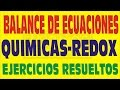 METODO REDOX EN EL BALANCE DE ECUACIONES QUIMICAS