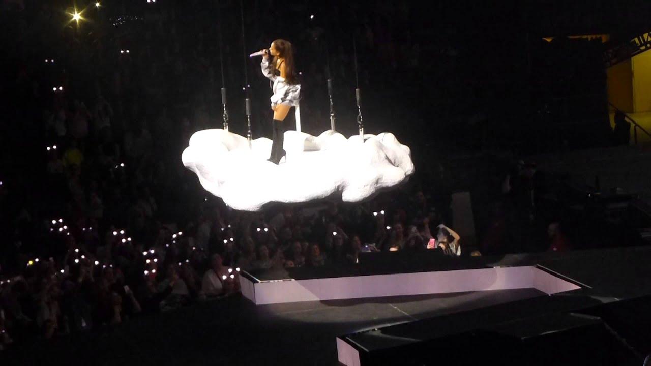 """Best Mistake (On Flying Cloud)"" Ariana Grande@Wells Fargo Center  Philadelphia 3/12/15"