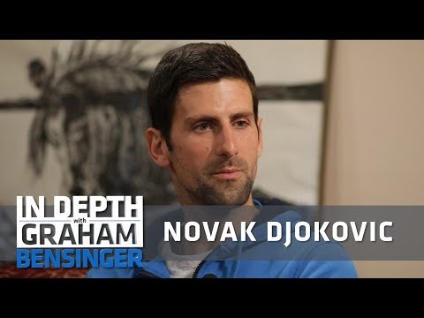 Djokovic responds to