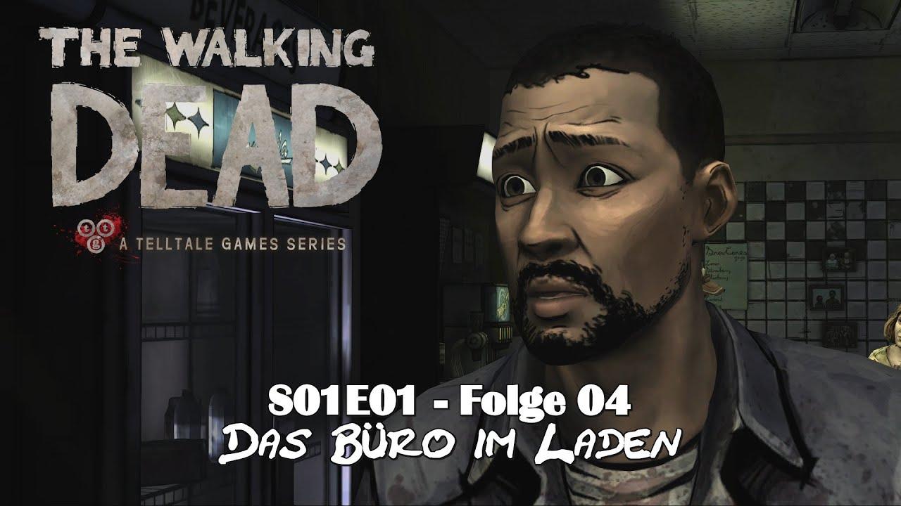 The Walking Dead Let S Play S01e01 04 Das Buro Im Laden Hd