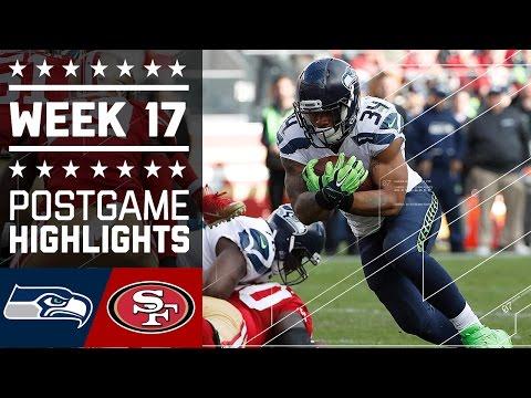 Seahawks vs. 49ers | NFL Week 17 Game Highlights
