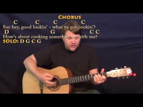 Hey Good Lookin' (Hank Williams) Strum Guitar Cover Lesson with Chords/Lyrics