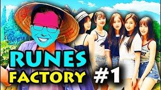 RUNE FACTORY #1: NÔNG DÂN DŨNG 1 MÌNH CHĂN RAU !!! Stardew Valley 3D ver Nhật =))))