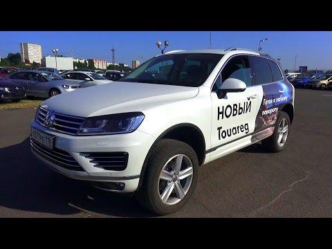 2015 Volkswagen Touareg 3.0 TDI R-line. Обзор (интерьер, экстерьер, двигатель).