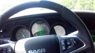 SAAB 9-5 NG 2010 TID sur autoroute on road in France