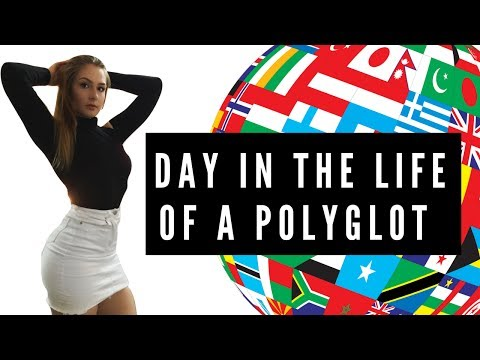 DAY IN THE LIFE OF A POLYGLOT 🌎 -  VLOG