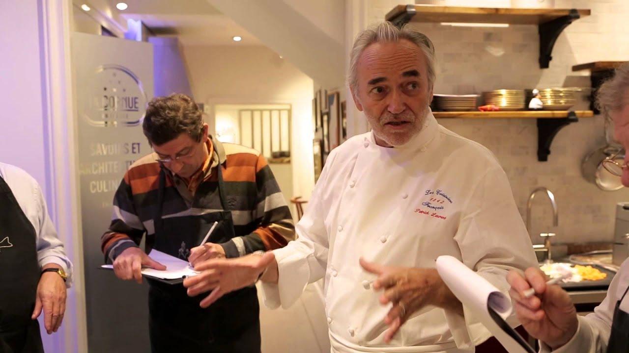 Cours de cuisine galerie la cornue paris youtube - Ecole de cuisine a paris ...