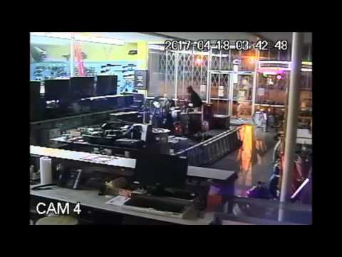 Burglary of the Candler Pawn Shop at 1890 Candler Road
