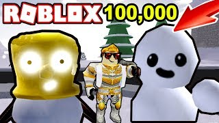 *NEW GAME* BECOME THE MOST POWERFUL SNOWMAN IN ROBLOX !/ Sno Day Roblox