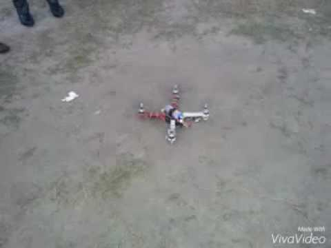 CC3D Quardcopter test fly (Chittagong, Bangladesh)