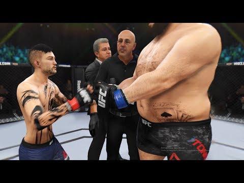 Самый ЖИРНЫЙ Vs САМЫЙ Худой / Бой в UFC