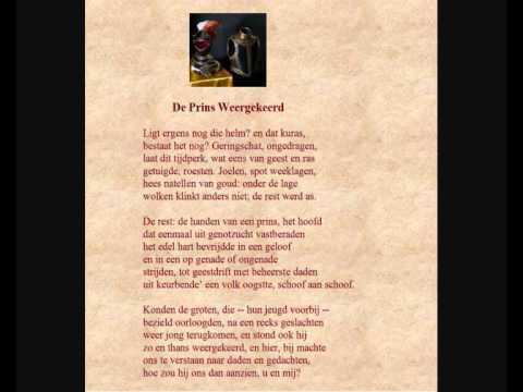 Adriaan Roland Holst Gedicht De Prins Weergekeerd Twee Lezingen Uit Resp 1970 En 1975