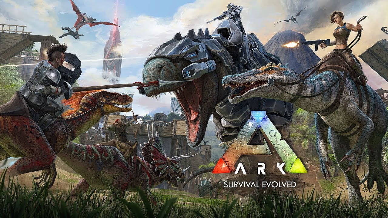 Ark Survival Evolved Official Launch Trailer Youtube
