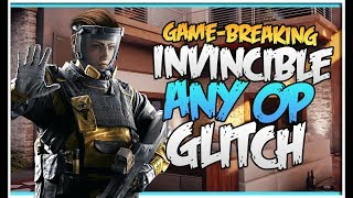 (OP) INVINCIBILITY GLITCH ON CHALET - ANY OPERATOR - GOD MODE GLITCH - (Rainbow Six Siege)