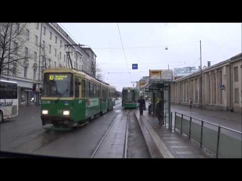 Helsingin Raitiolinja 4. Helsinki Tramline 4.