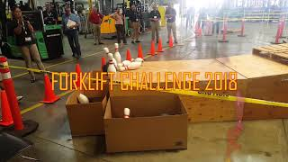 Driving Innovation Forklift Challenge 2018