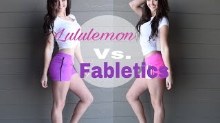Lululemon vs Fabletics Haul and Review