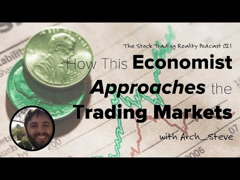 STR 021: How This Economist Approaches the Trading Markets (audio only)