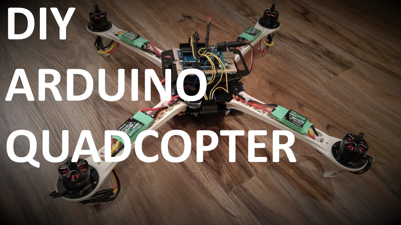 Diy do it yourself arduino uno quadcopter introduction to the diy do it yourself arduino uno quadcopter introduction to the project youtube solutioingenieria Image collections