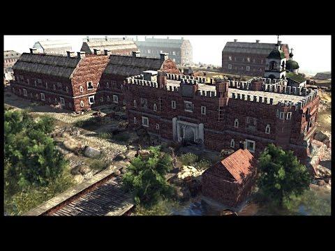 Siege of Fortress Brest - Epic Russian Fort Defense | Men of War Assault Squad 2 Mod Gameplay
