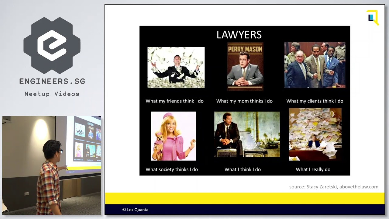 When lawyers math: An introduction to legal data analytics - PyData Singapore