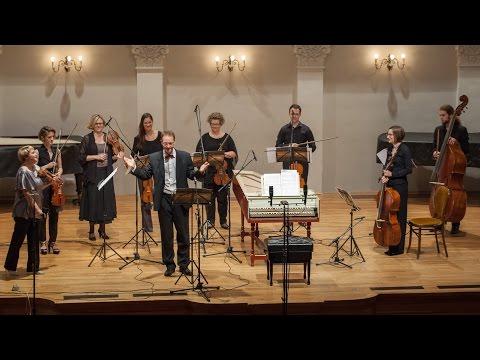 Bach  Harpsichord Concerto no3 in D major, BWV 1054  CroBaroque