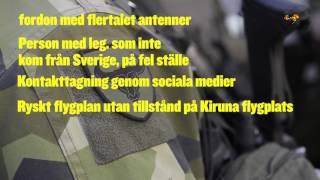Misstänkt ryskt spionage mot Sverige