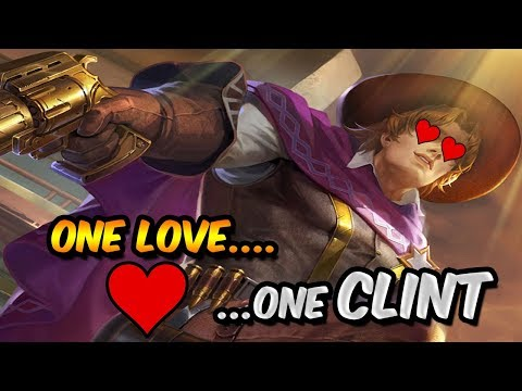 ONE LOVE ONE CLINT - Mobile Legends Gameplay