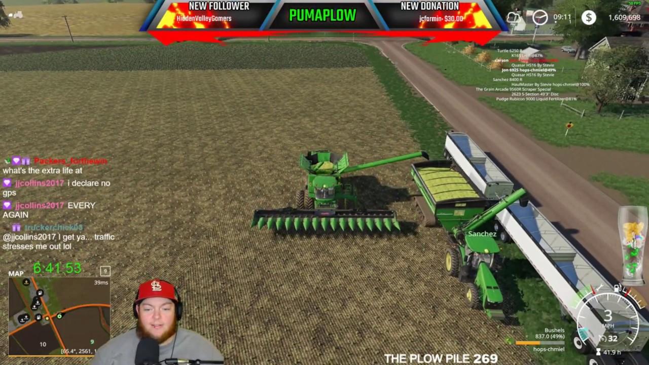 Twitch Livestream | Farming Simulator 19 PC 07/24/2019 County Line
