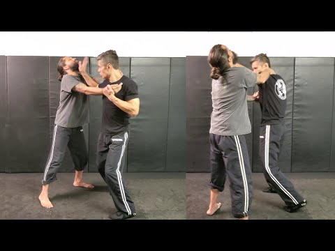 Krav Maga - Choke From The Front - One-Handed Pluck (Importance Of Knowing It On Both Sides)