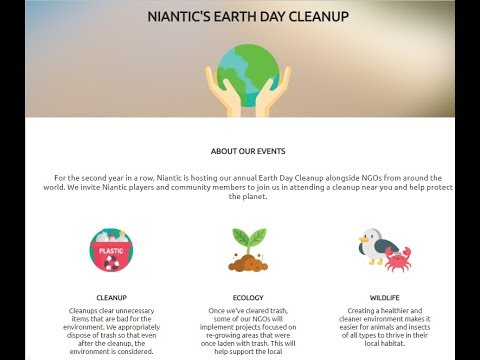 Niantic's Announcing Earth Day 2019   Pokemon Go